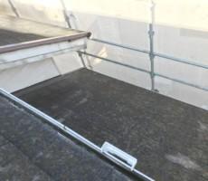 屋根の塗り替え。