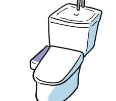 トイレでエコ?