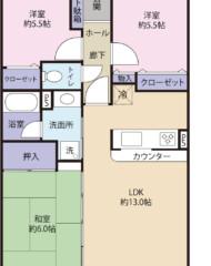 コアマンション和白東パセオ(成約済) 間取り図
