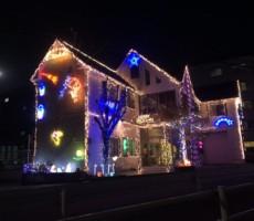 クリスマスイルミネーション!やるねぇ~~~!