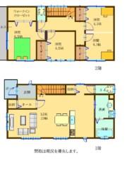 筑紫野市俗明院二丁目(新築戸建) 間取り図