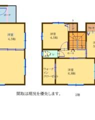 城南区樋井川三丁目(新築戸建) 間取り図